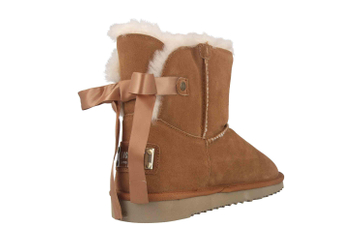 Mustang Shoes Boots in Übergrößen Braun 1343-606-307 große Damenschuhe – Bild 3