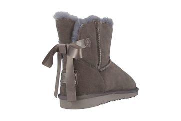Mustang Shoes Boots in Übergrößen Grau 1343-606-20 große Damenschuhe – Bild 3