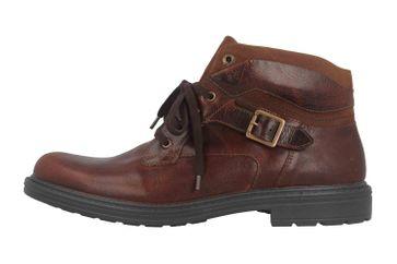 Jomos Stiefel in Übergrößen Braun 207701 731 3115 große Herrenschuhe – Bild 1