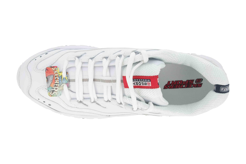 Skechers ENERGY BRUNKZ Sneaker in Übergrößen Weiß 51828 WHT große Herrenschuhe