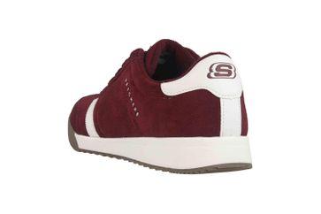 Skechers ZINGER VENTICH Sneaker in Übergrößen Rot 52328 BURG große Herrenschuhe – Bild 2