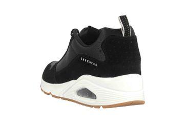 Skechers UNO STACRE Sneaker in Übergrößen Schwarz 52468 BKW große Herrenschuhe – Bild 2