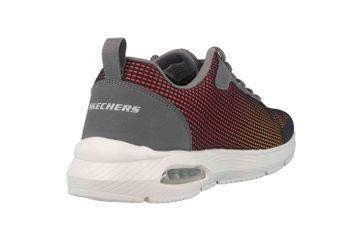 Skechers DYNA-AIR BLYCE Sneaker in Übergrößen Grau 52558 CCMT große Herrenschuhe – Bild 3