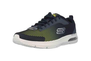 Skechers DYNA-AIR BLYCE Sneaker in Übergrößen Blau 52558 NVLM große Herrenschuhe – Bild 6