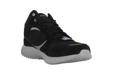 Skechers BOUNDER HYRIDGE Sneaker in Übergrößen Schwarz 52589 BKGY große Herrenschuhe – Bild 5