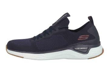 Skechers SOLAR FUSE Sneaker in Übergrößen Blau 52757 NVRD große Herrenschuhe – Bild 1