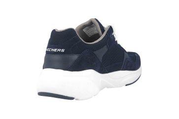 Skechers MERIDIAN Sneaker in Übergrößen Blau 52952 NVW große Herrenschuhe – Bild 3