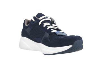 Skechers MERIDIAN Sneaker in Übergrößen Blau 52952 NVW große Herrenschuhe – Bild 5