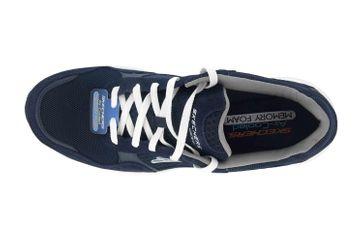 Skechers MERIDIAN Sneaker in Übergrößen Blau 52952 NVW große Herrenschuhe – Bild 7