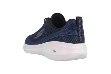 Skechers GO RUN FAST ARCO Sneaker in Übergrößen Schwarz 55105 BKBL große Herrenschuhe – Bild 2