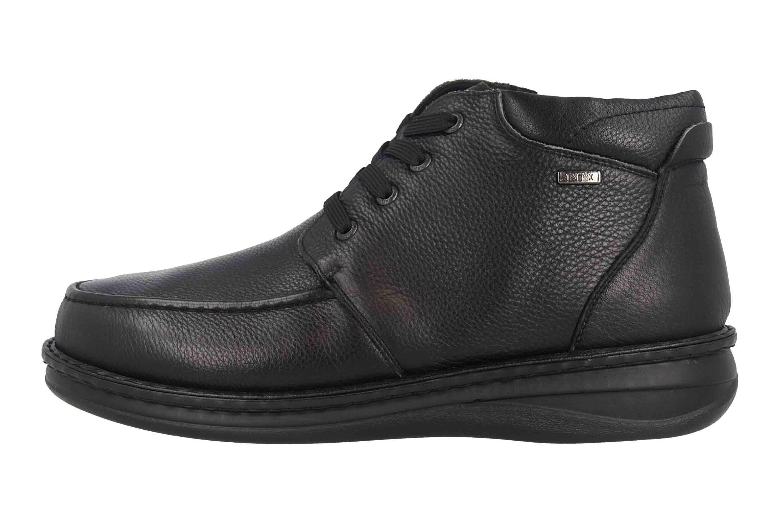 Grünwald Stiefel in Übergrößen Schwarz P-3712 Schwarz große Herrenschuhe – Bild 1