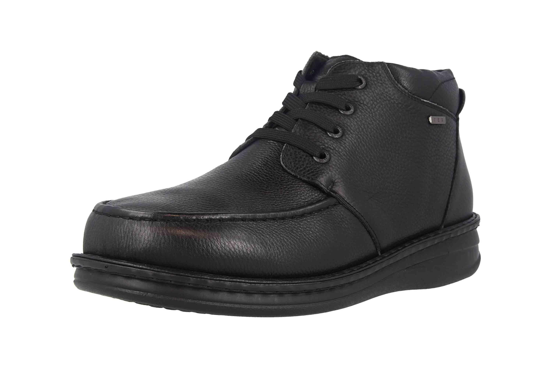 Grünwald Stiefel in Übergrößen Schwarz P-3712 Schwarz große Herrenschuhe – Bild 6