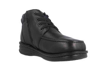 Grünwald Stiefel in Übergrößen Schwarz P-3712 Schwarz große Herrenschuhe – Bild 5