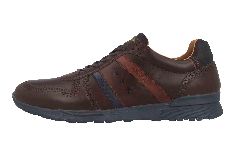 Pantofola d'Oro Sanago Uomo Low Sneaker in Übergrößen Braun 10193016.IKU/10193081.IKU große Herrenschuhe – Bild 1