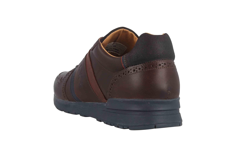 Pantofola d'Oro Sanago Uomo Low Sneaker in Übergrößen Braun 10193016.IKU/10193081.IKU große Herrenschuhe – Bild 2