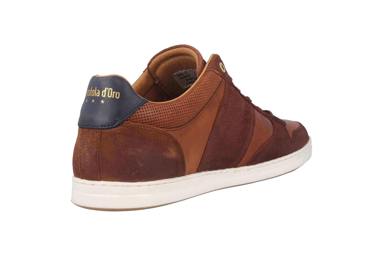 Pantofola d'Oro Milito Uomo Low Sneaker in Übergrößen Braun 10193018.JCU/10193080.JCU große Herrenschuhe – Bild 3