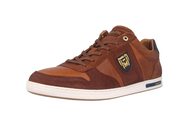 Pantofola d'Oro Milito Uomo Low Sneaker in Übergrößen Braun 10193018.JCU/10193080.JCU große Herrenschuhe – Bild 6