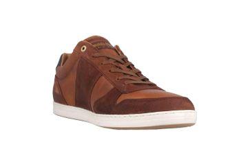 Pantofola d'Oro Milito Uomo Low Sneaker in Übergrößen Braun 10193018.JCU/10193080.JCU große Herrenschuhe – Bild 5