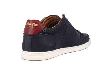 Pantofola d'Oro Milito Uomo Low Sneaker in Übergrößen Blau 10193018.29Y/10193080.29Y große Herrenschuhe – Bild 3
