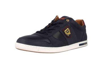 Pantofola d'Oro Milito Uomo Low Sneaker in Übergrößen Blau 10193018.29Y/10193080.29Y große Herrenschuhe – Bild 6