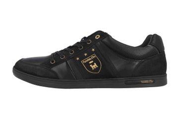Pantofola d'Oro Mondovi Uomo Low Sneaker in Übergrößen Schwarz 10193019.11A/10193069.11A große Herrenschuhe – Bild 1