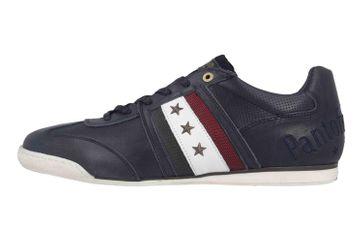 Pantofola d'Oro Imola Romagna Uomo Low Sneaker in Übergrößen Blau 10193037.29Y/10193082.29Y große Herrenschuhe – Bild 1