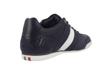 Pantofola d'Oro Imola Romagna Uomo Low Sneaker in Übergrößen Blau 10193037.29Y/10193082.29Y große Herrenschuhe – Bild 3
