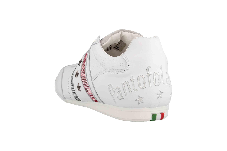 Pantofola d'Oro Imola Romagna Uomo Low Sneaker in Übergrößen Weiß 10193037.1FG/10193082.1FG große Herrenschuhe – Bild 2