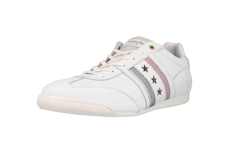 Pantofola d'Oro Imola Romagna Uomo Low Sneaker in Übergrößen Weiß 10193037.1FG/10193082.1FG große Herrenschuhe – Bild 6