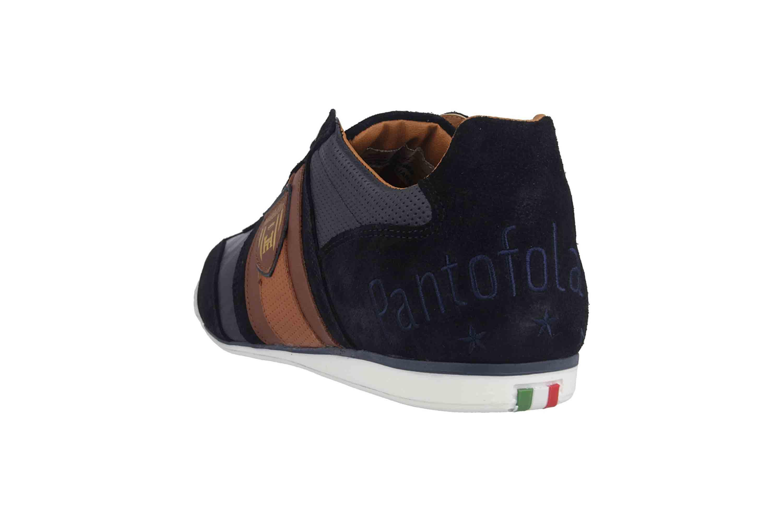 Pantofola d'Oro Imola Scudo Uomo Low Sneaker in Übergrößen Blau 10193040.29Y/10193084.29Y große Herrenschuhe – Bild 2