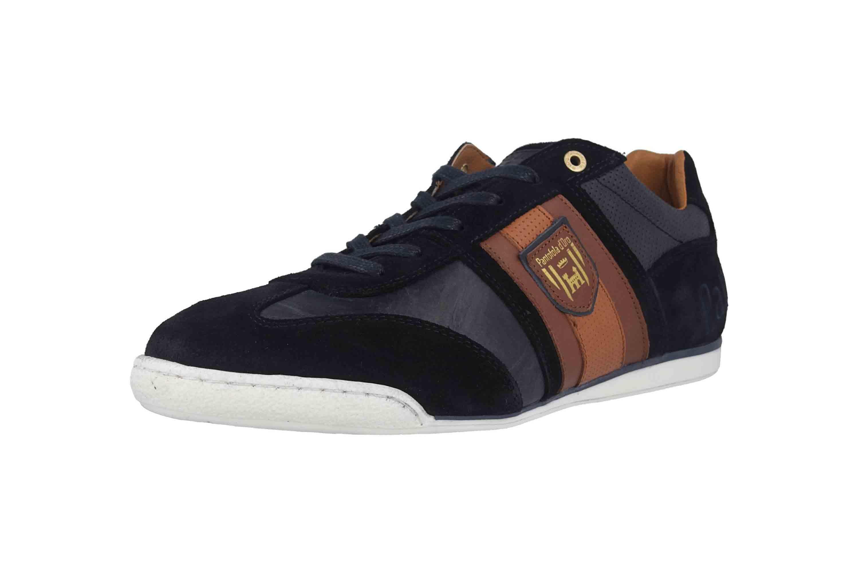 Pantofola d'Oro Imola Scudo Uomo Low Sneaker in Übergrößen Blau 10193040.29Y/10193084.29Y große Herrenschuhe – Bild 6
