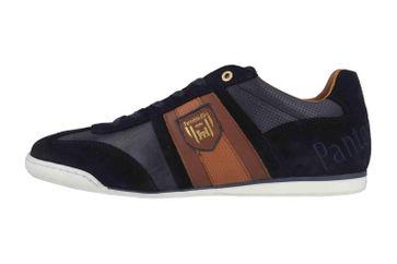 Pantofola d'Oro Imola Scudo Uomo Low Sneaker in Übergrößen Blau 10193040.29Y/10193084.29Y große Herrenschuhe – Bild 1