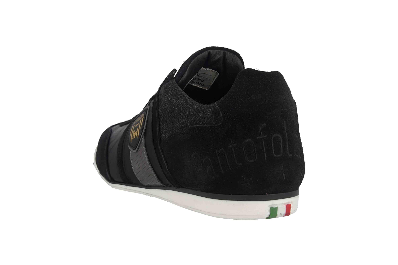 Pantofola d'Oro Imola Scudo Winter Uomo Low Sneaker in Übergrößen Schwarz 10193041.25Y/10193085.25Y große Herrenschuhe – Bild 2