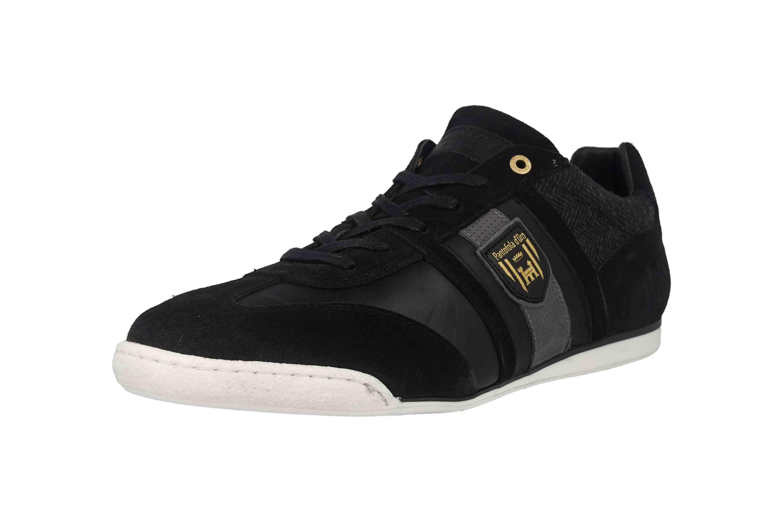 Pantofola d'Oro Imola Scudo Winter Uomo Low Sneaker in Übergrößen Schwarz 10193041.25Y/10193085.25Y große Herrenschuhe – Bild 6