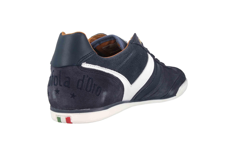 Pantofola d'Oro Vasto Suede Uomo Low Sneaker in Übergrößen Blau 10193044.29Y/10193086.29Y große Herrenschuhe – Bild 3