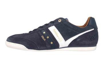 Pantofola d'Oro Vasto Suede Uomo Low Sneaker in Übergrößen Blau 10193044.29Y/10193086.29Y große Herrenschuhe – Bild 1