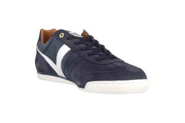 Pantofola d'Oro Vasto Suede Uomo Low Sneaker in Übergrößen Blau 10193044.29Y/10193086.29Y große Herrenschuhe – Bild 5