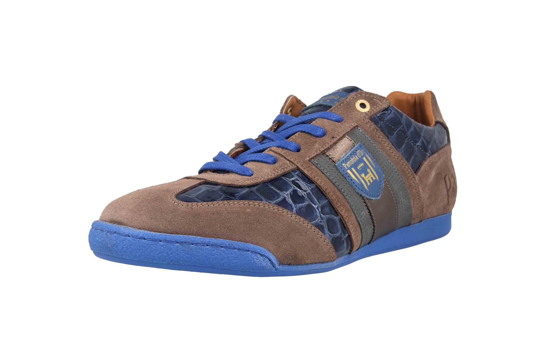 Pantofola d'Oro Imola Scudo Patent Uomo Low Sneaker in Übergrößen Blau 10193065.HFQ/10193087.HFQ große Herrenschuhe – Bild 6