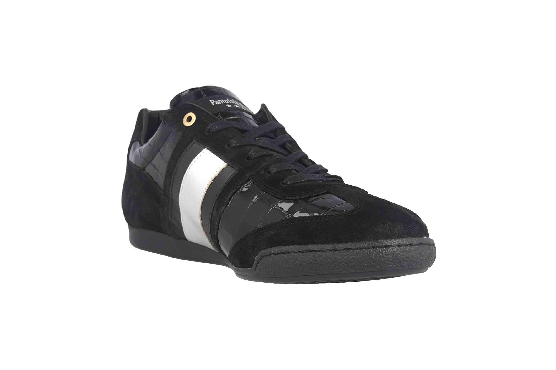 Pantofola d'Oro Imola Scudo Patent Uomo Low Sneaker in Übergrößen Schwarz 10193065.25Y/10193087.25Y große Herrenschuhe – Bild 5