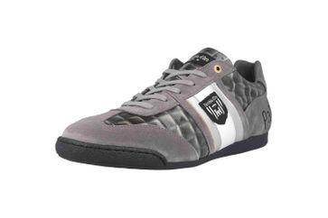Pantofola d'Oro Imola Scudo Patent Uomo Low Sneaker in Übergrößen Grau 10193065.3JW/10193087.3JW große Herrenschuhe – Bild 6