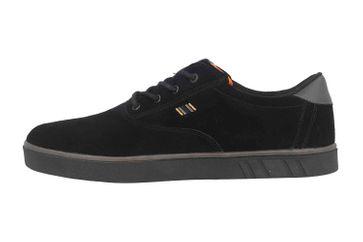 Boras SP Sports Sneaker Suede Sneaker in Übergrößen Schwarz 5208-1549 große Herrenschuhe – Bild 1