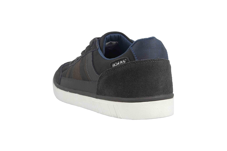 Boras SP Sports Casual Sneaker Vista Boras Sneaker in Übergrößen Grau 4900-1548 große Herrenschuhe – Bild 2