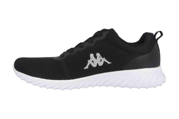 e6b6804477 Kappa CES Sneaker in Übergrößen Schwarz 242685 1110 große Damenschuhe –  Bild 1