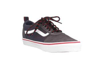 VANS MN Ward (OUTDOOR) OBSIDIAN/WHITE Sneaker in Übergrößen Grau VN0A38DMSYO1 große Herrenschuhe – Bild 5
