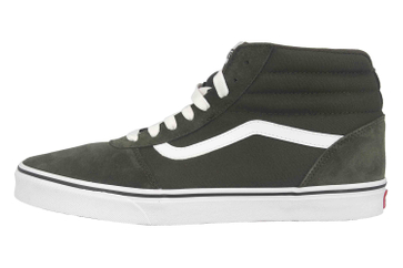VANS MN Ward Hi (SUEDE/CANVAS)FRSTNGHTWHT Sneaker in Übergrößen Grün VN0A38DNSW71 große Herrenschuhe – Bild 1
