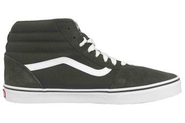 VANS MN Ward Hi (SUEDE/CANVAS)FRSTNGHTWHT Sneaker in Übergrößen Schwarz VN0A38DNSW71 große Herrenschuhe – Bild 4