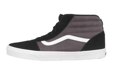 VANS MN Ward Hi (Herringbone) Bk/Pewter Sneaker in Übergrößen Grau VN0A38DN9VT1 große Herrenschuhe – Bild 1