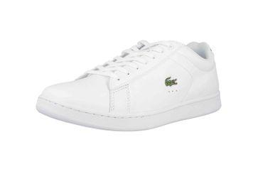 Lacoste CARNABY EVO BL 1 SPM Sneaker in Übergrößen Weiß 33SPM1002001 große Herrenschuhe – Bild 6