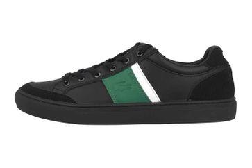 Lacoste COURTLINE 319 1 US CMA Sneaker in Übergrößen Schwarz 38CMA00741B4 große Herrenschuhe – Bild 1