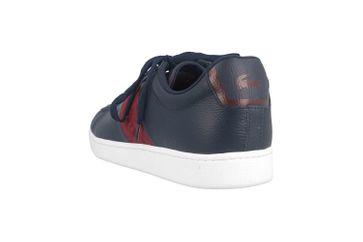 Lacoste CARNABY EVO 319 1 SMA Sneaker in Übergrößen Blau 38SMA00145A5 große Herrenschuhe – Bild 2